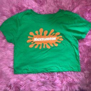 Nickelodeon crop shirt